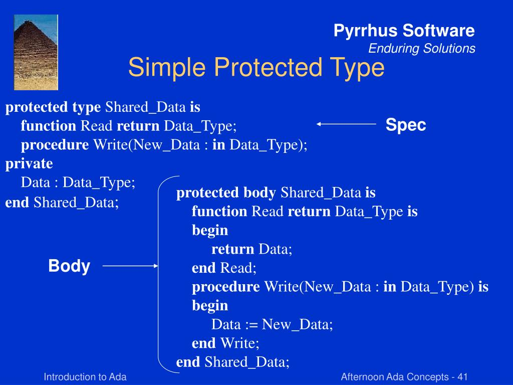 Simple Protected Type