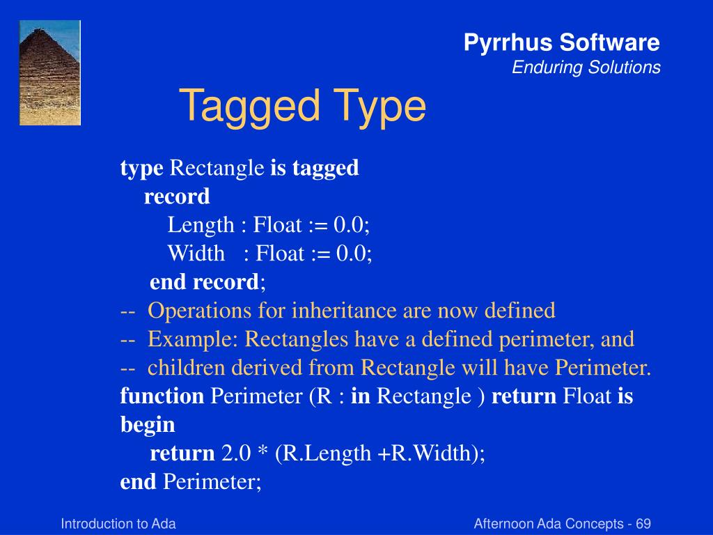 Tagged Type