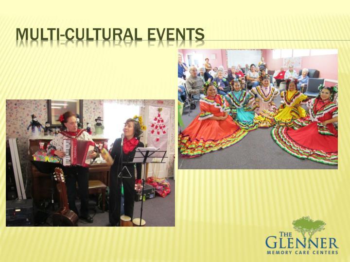 Multi-cultural events