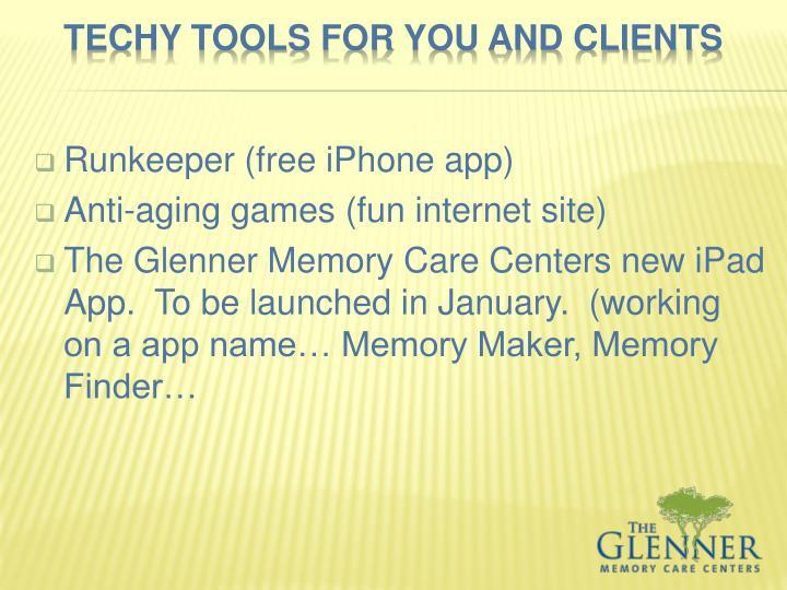 Runkeeper (free iPhone app)