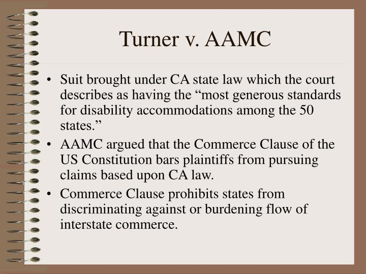 Turner v. AAMC