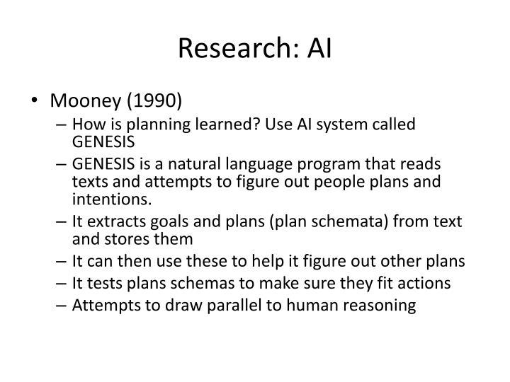 Research: AI