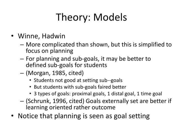 Theory: Models