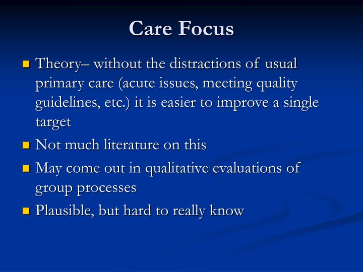 Care Focus