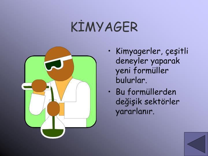 KİMYAGER
