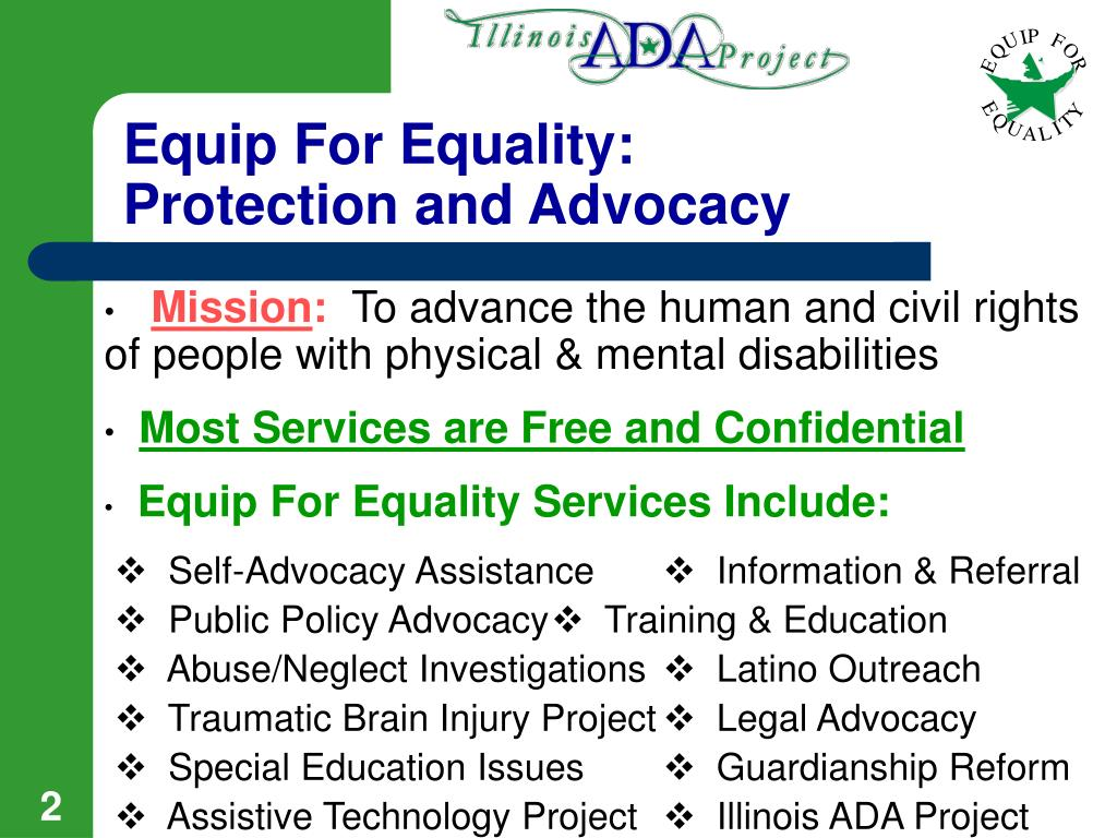 Equip For Equality: