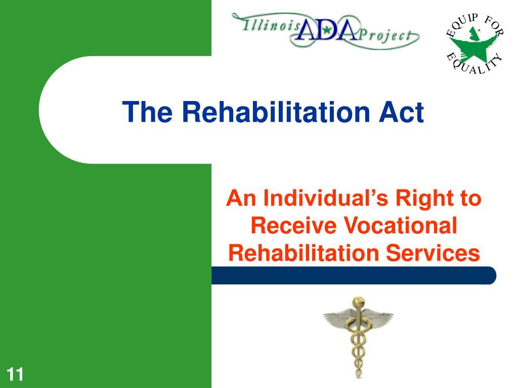 The Rehabilitation Act