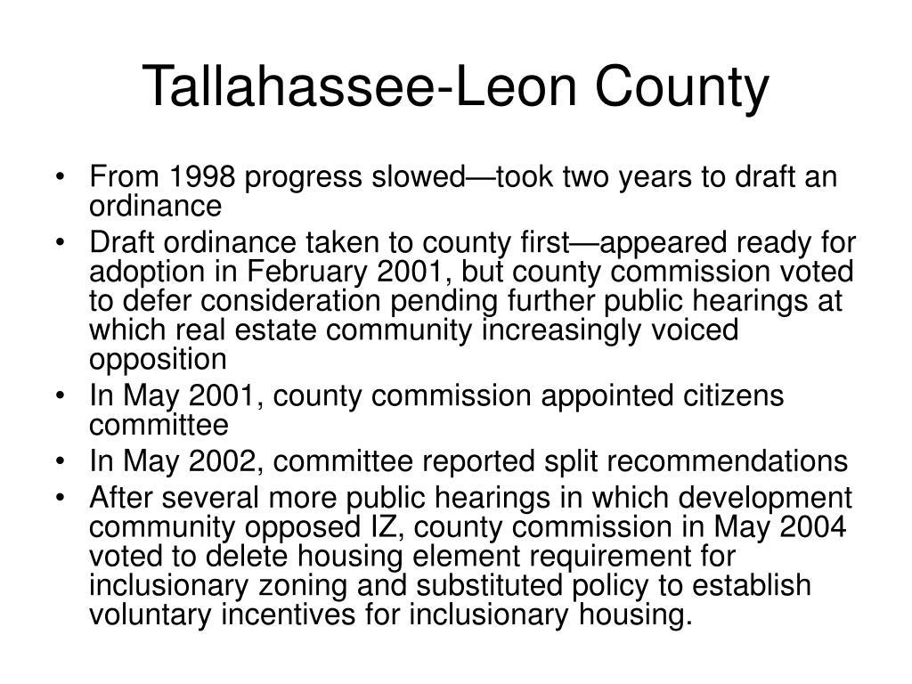 Tallahassee-Leon County