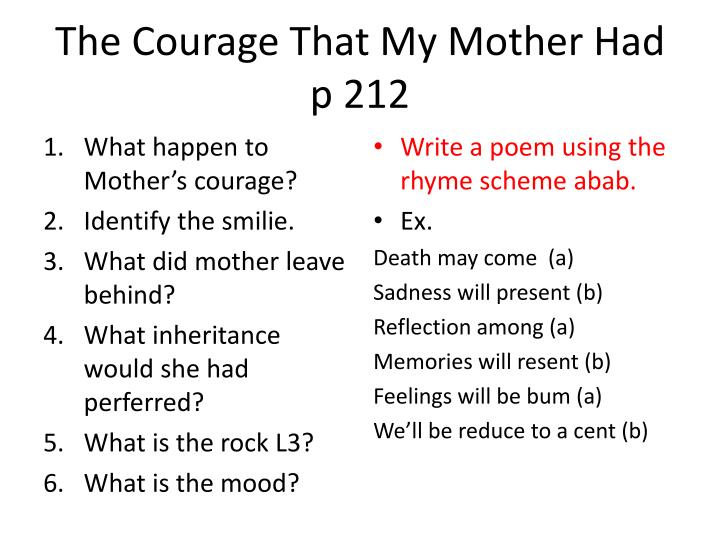 the courage that my mother had The courage that my mother had wwwednastvincentmillaycom (video web site.
