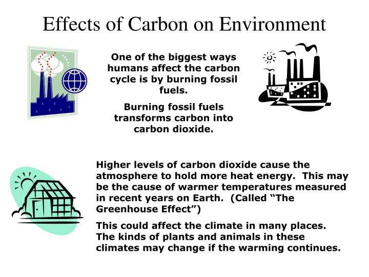 Effects of Carbon on Environment