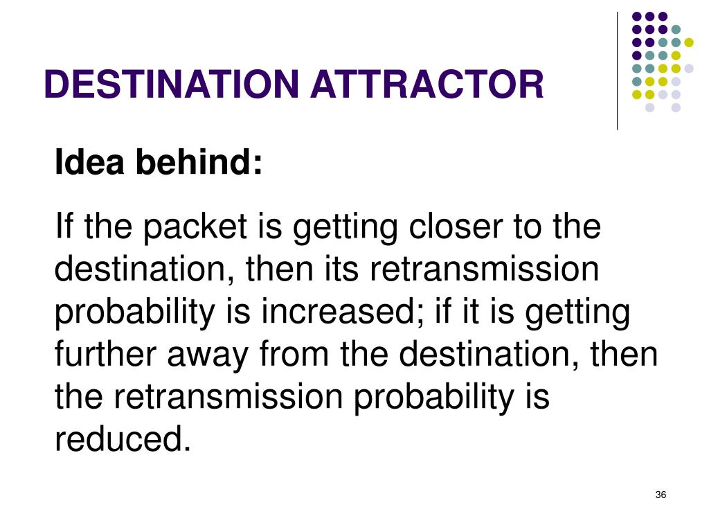 DESTINATION ATTRACTOR