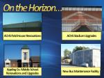 achs field house renovations