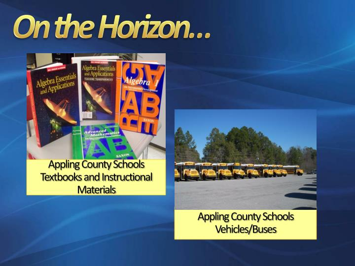 Appling County Schools Textbooks and Instructional Materials