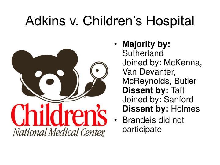 Adkins v. Children's Hospital