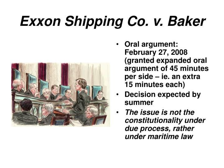 Exxon Shipping Co. v. Baker