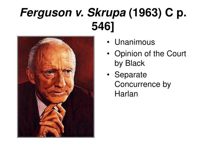 Ferguson v. Skrupa