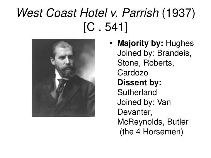 West Coast Hotel v. Parrish