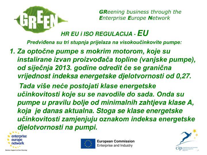 HR EU i ISO REGULACIJA