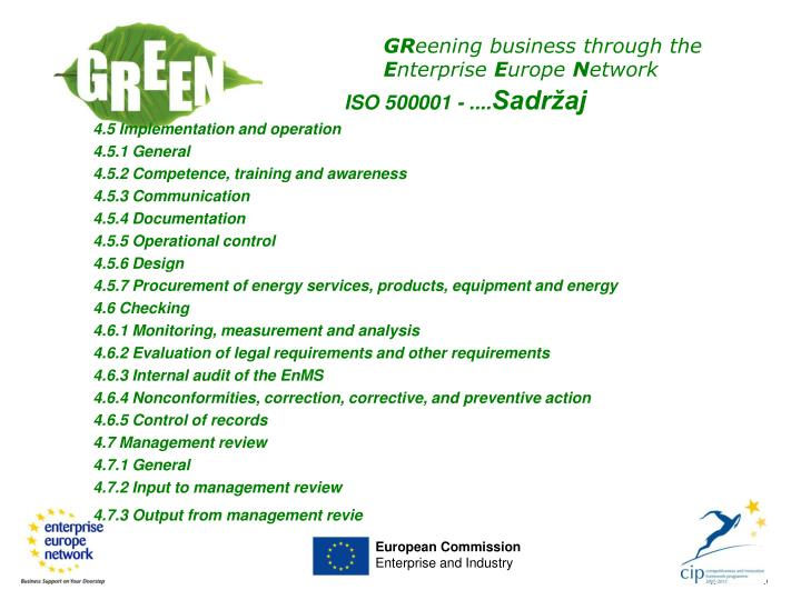 ISO 500001 - ....