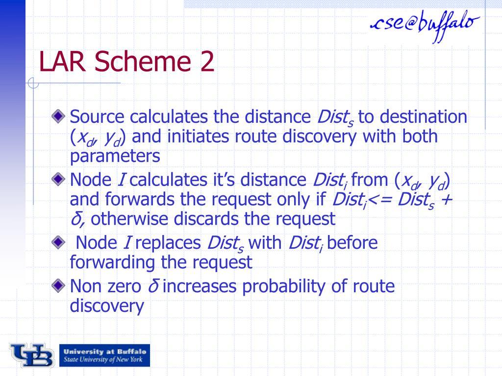 LAR Scheme 2