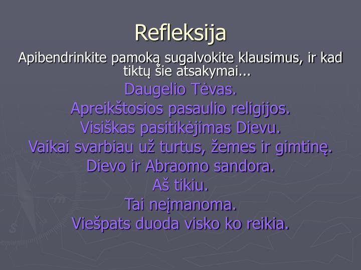 Refleksija