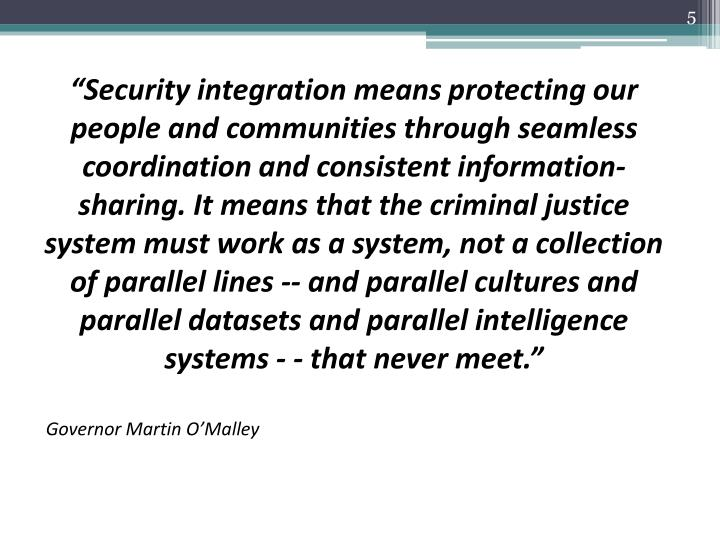 """Security integration means"