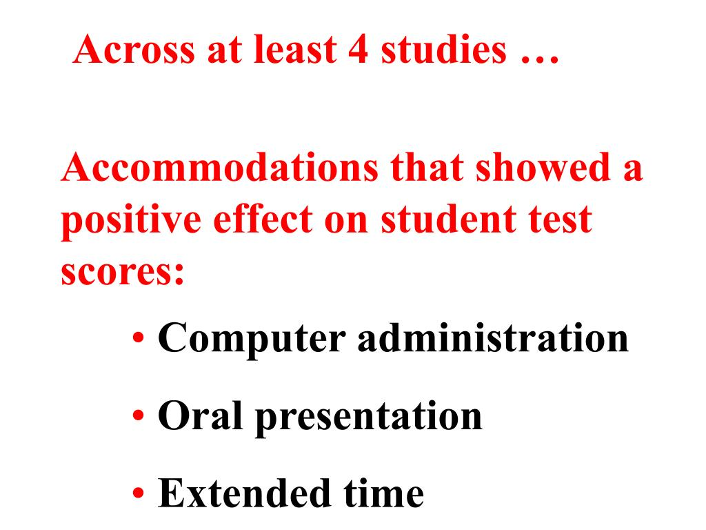 Across at least 4 studies …