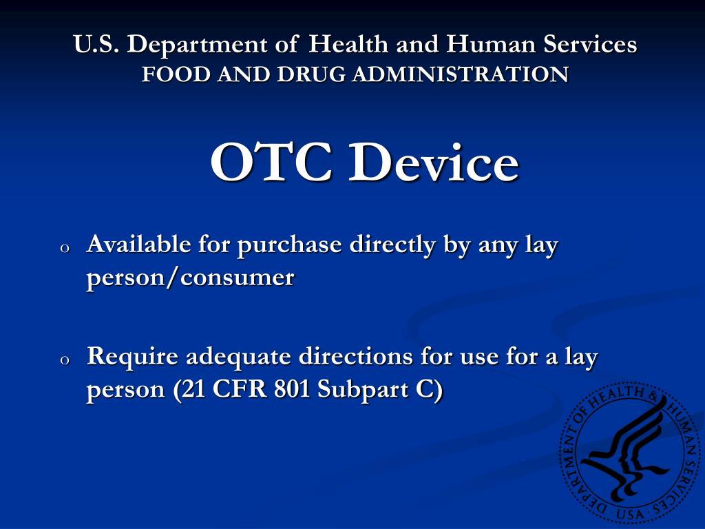 OTC Device