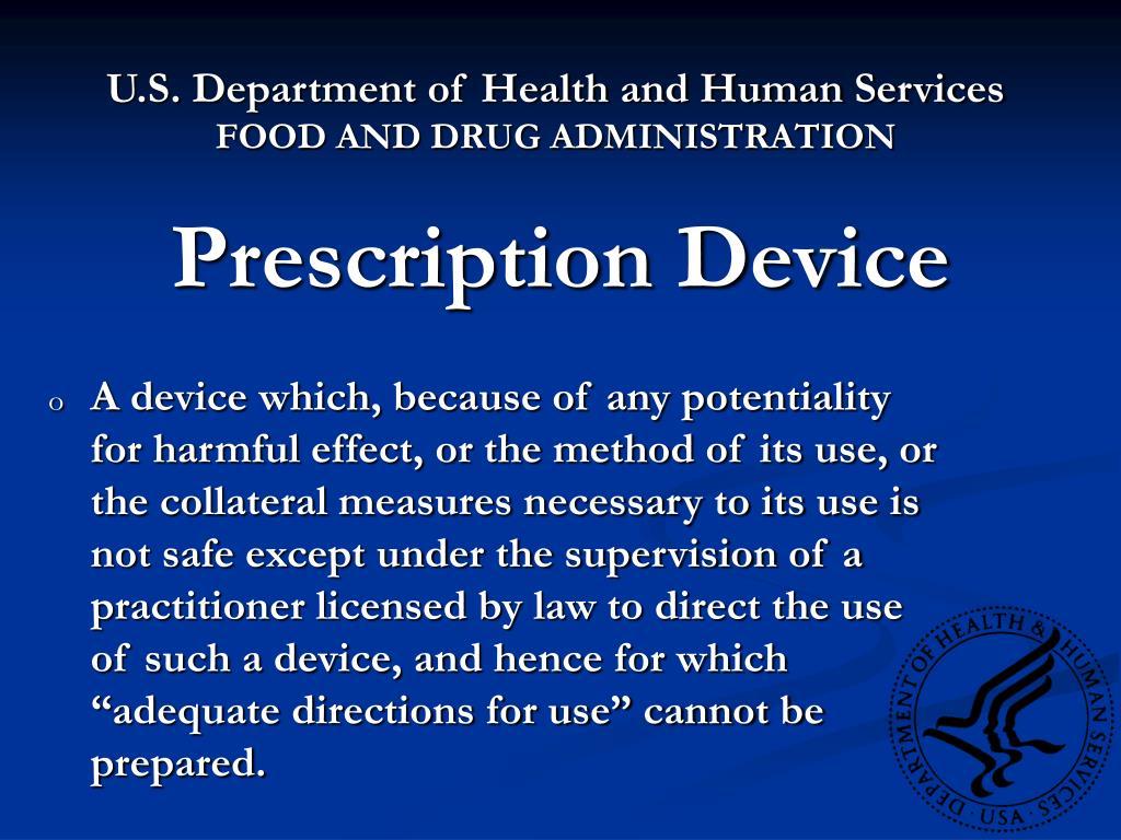Prescription Device
