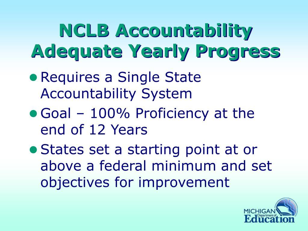 NCLB Accountability