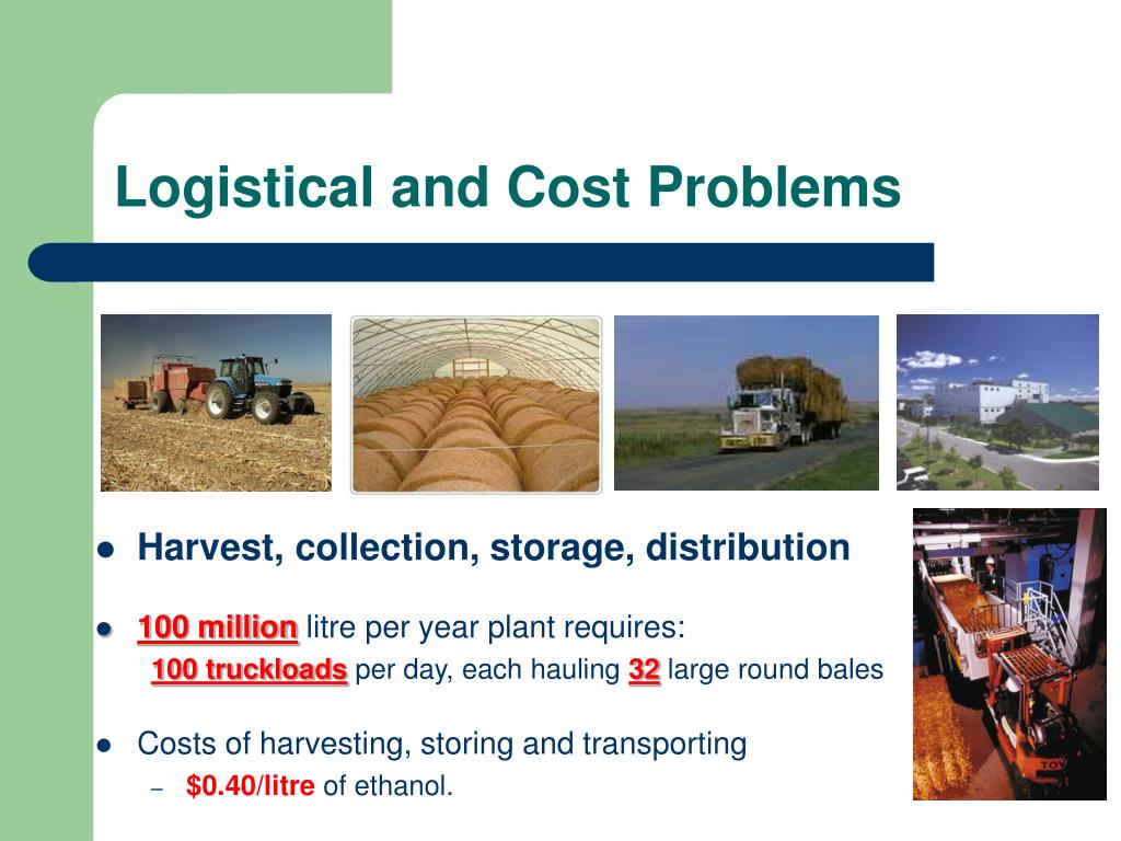 Logistical and Cost Problems