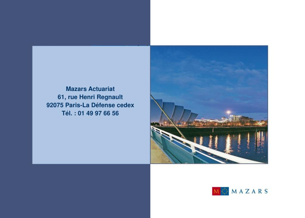 Mazars Actuariat