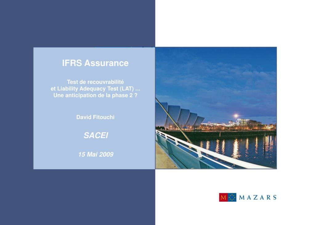 IFRS Assurance