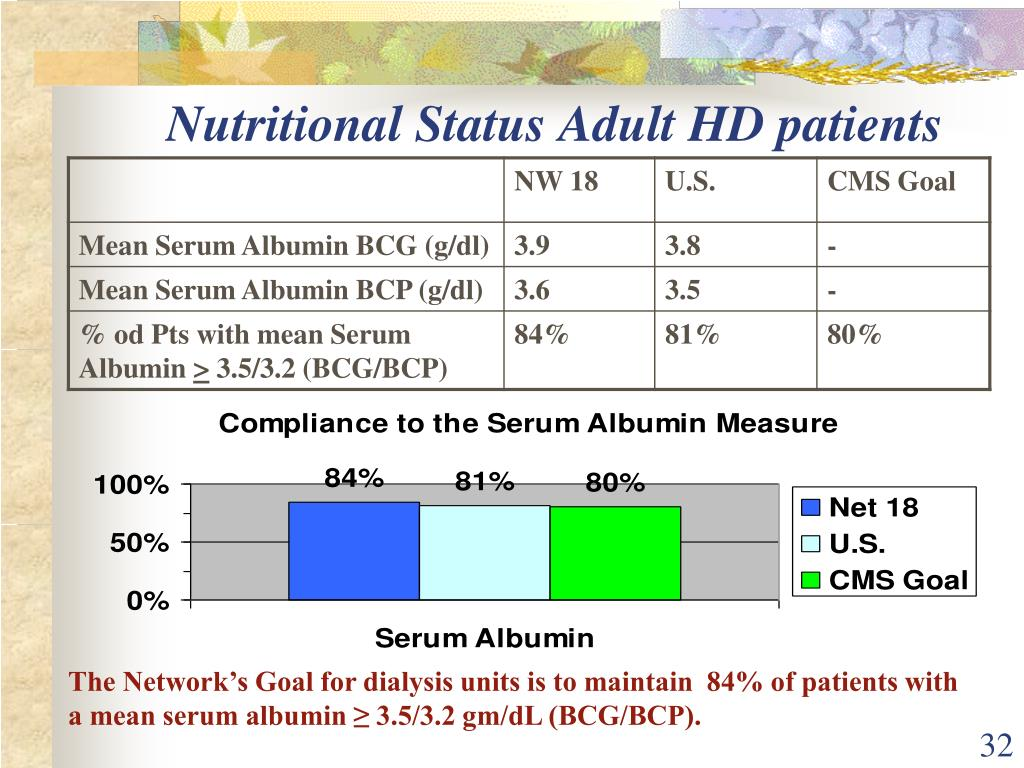 Nutritional Status Adult HD patients