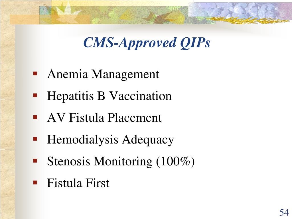 CMS-Approved QIPs