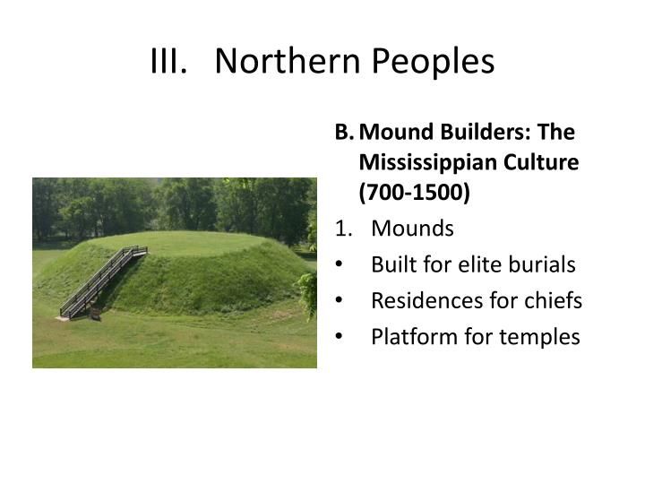 III.Northern Peoples