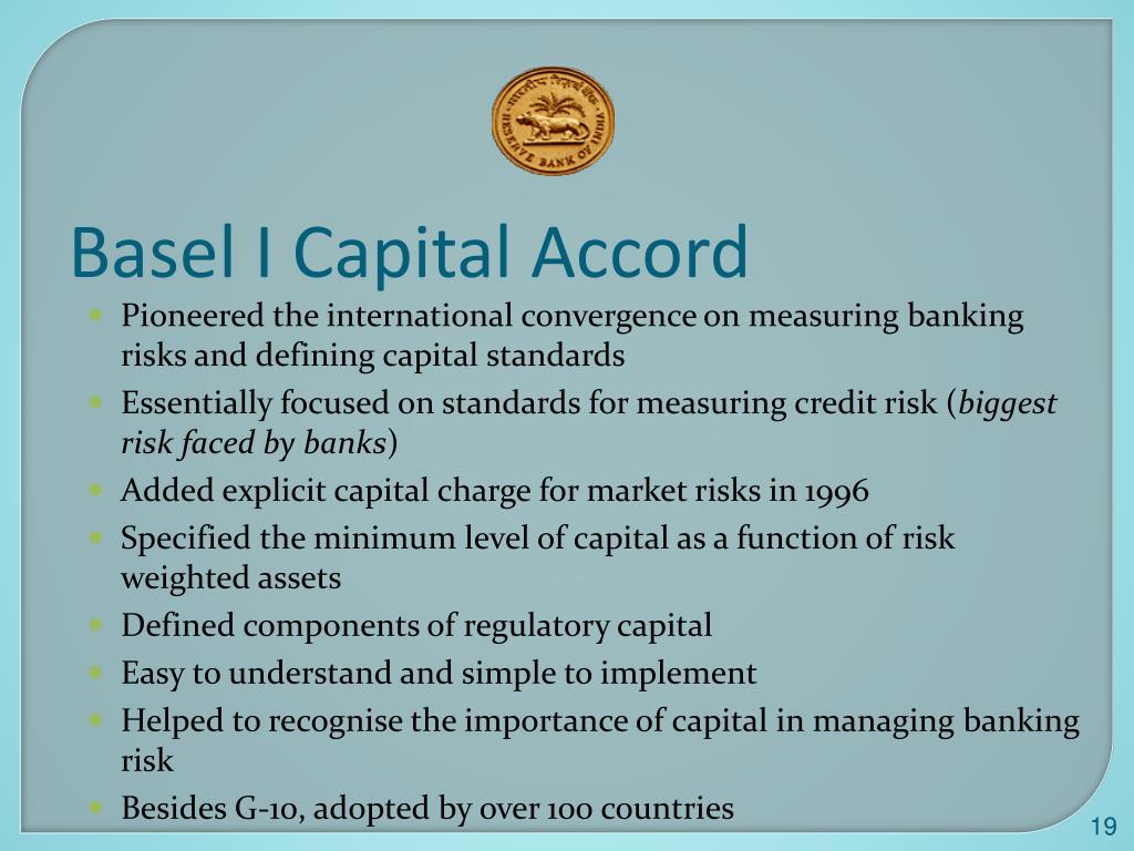 Basel I Capital Accord