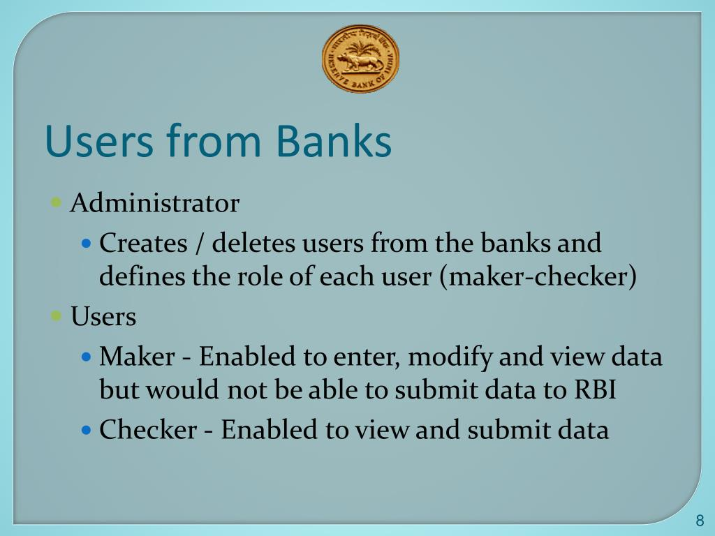Users from Banks