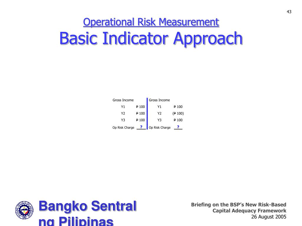 Operational Risk Measurement