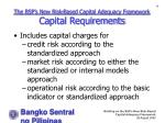 the bsp s new risk based capital adequacy framework capital requirements