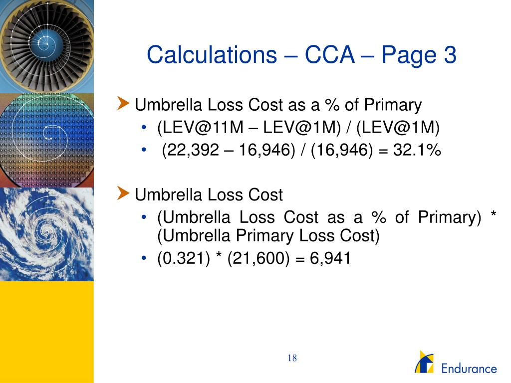 Calculations – CCA – Page 3