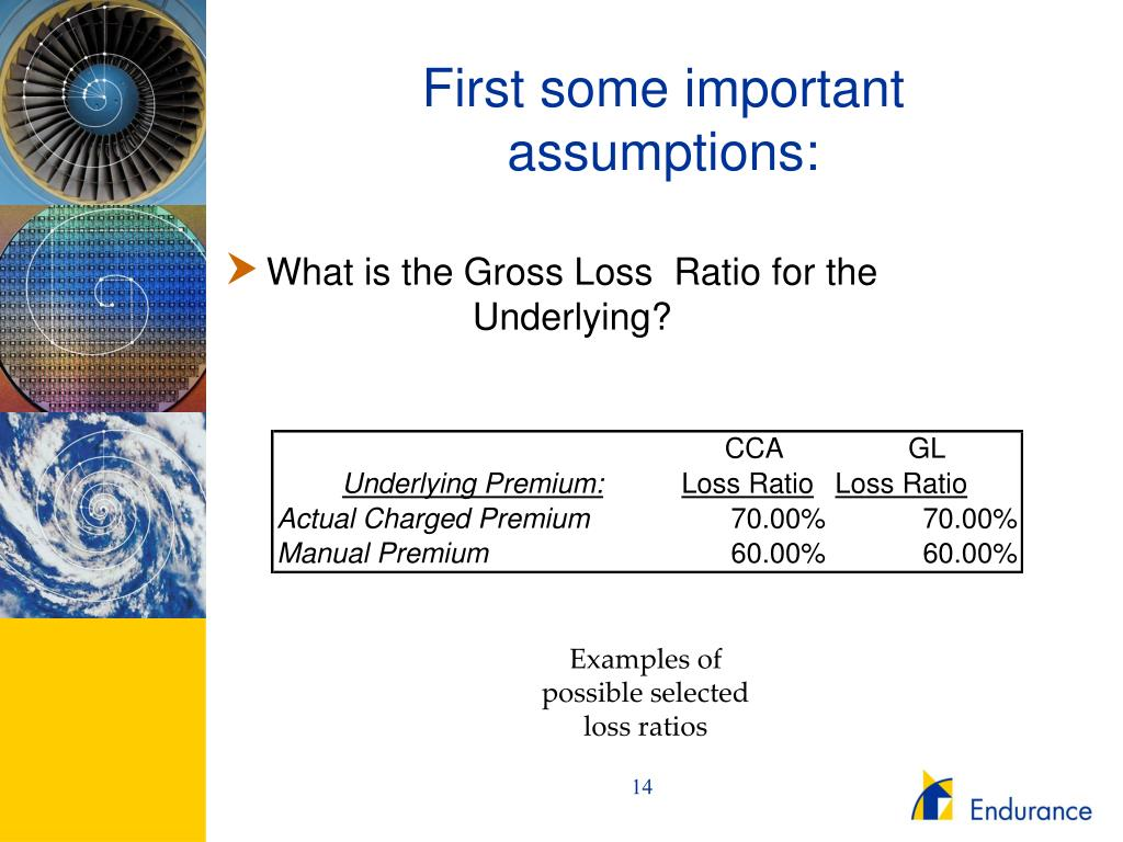 First some important assumptions: