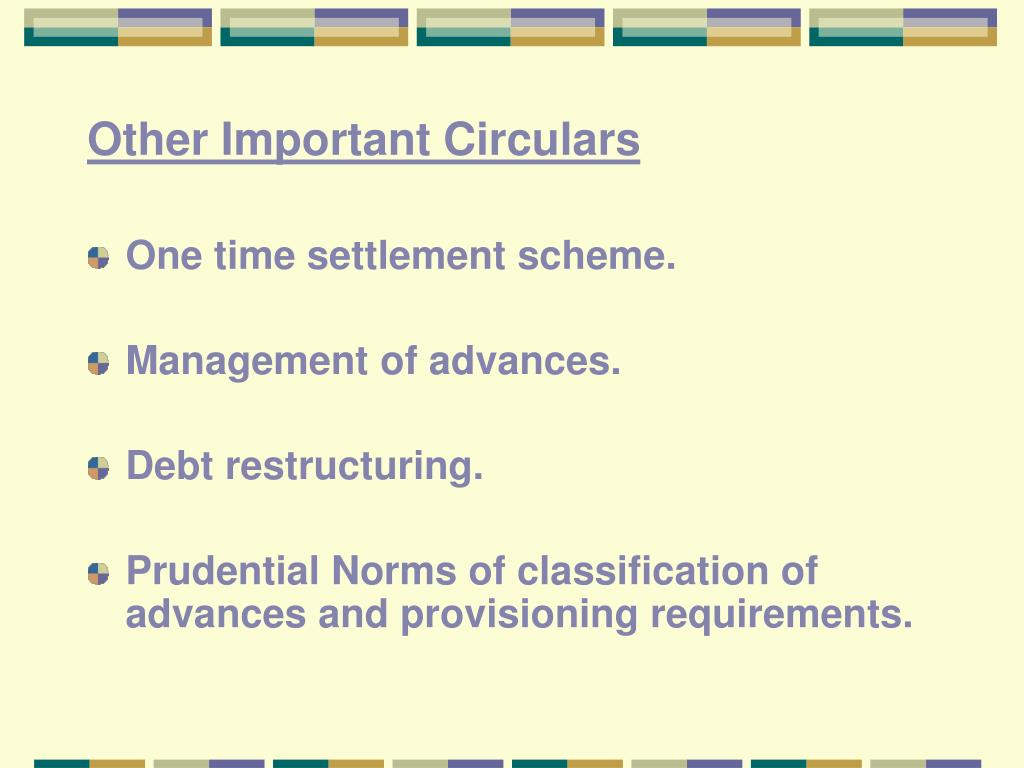 Other Important Circulars