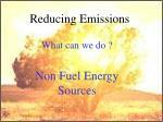reducing emissions38