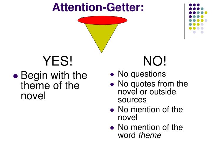 attention getters for research papers