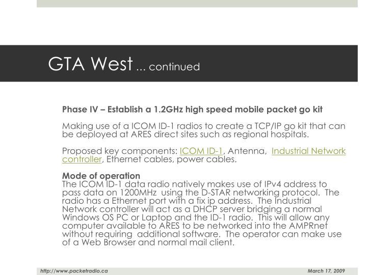 GTA West