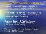 atlantic vs pacific indian what s different