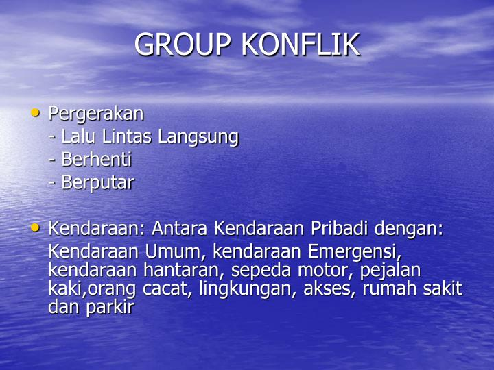 GROUP KONFLIK