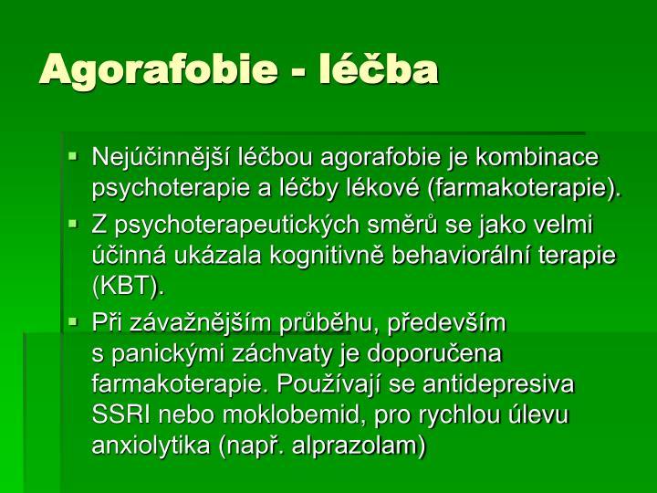 Agorafobie - léčba