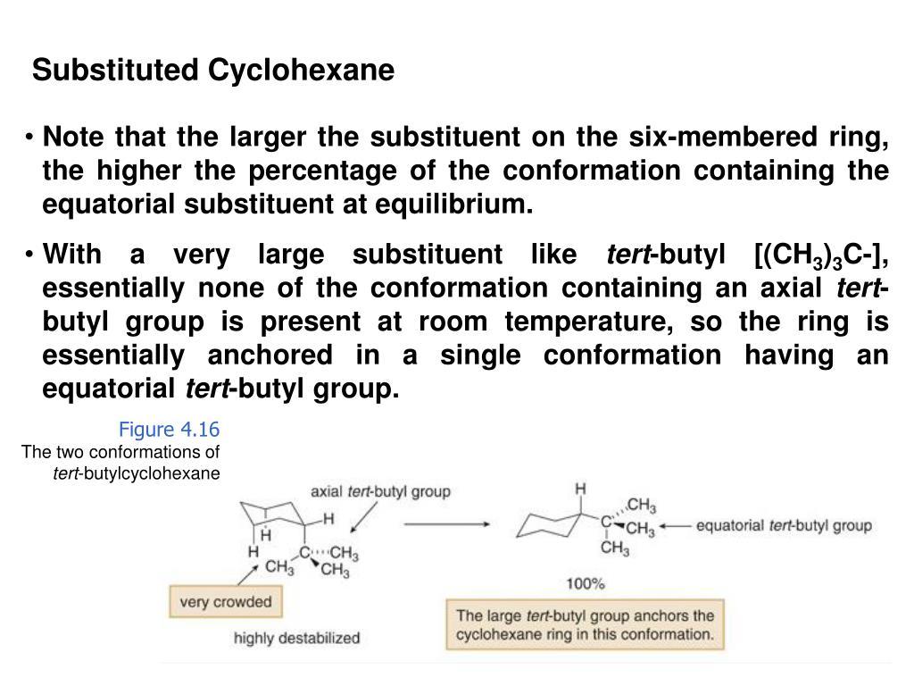 Substituted Cyclohexane